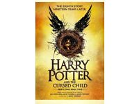 LONDON 2 X 2 parts: Harry Potter & Cursed Child: Saturday the 30th of JUNE