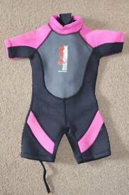 Baby girl wetsuit for 2-3 years