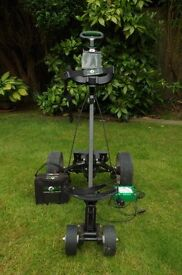 Electric GLof Trolley, charger and battery