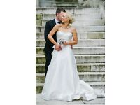Sabrina Toy Mon Cheri Couture Wedding Dress - Size 10