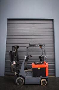 Toyota Electric, Model 7FBCU15 Forklift 5370W/BATT 1500LBS