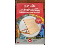 NEW REEVES A2 BEECH ART & CRAFT DESKTOP WORKSTATION