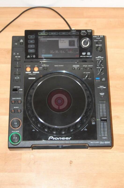Pioneer CDJ 2000 CD/USB Pro Turntable L@@@@K!!!