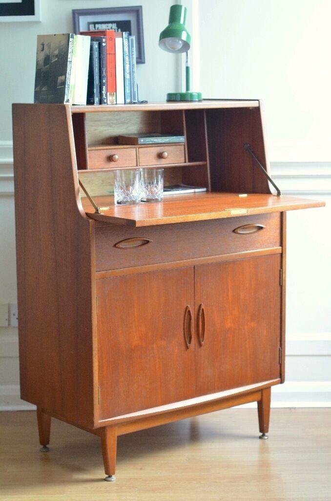 vintage jentique danish style teak bureau cabinet delivery modern mid beautiful mid century modern danish style teak