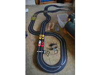 SCALEXTRIC Ferrari GT Pursuit (C1195) set plus lots of cars and track