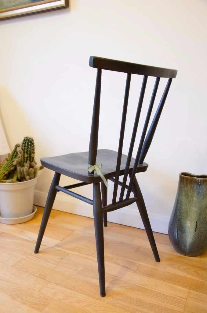 Vintage Ercol Stickback Chair - Desk Chair - Model 391