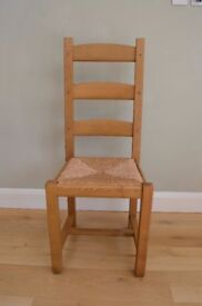 Good quality wooden chair