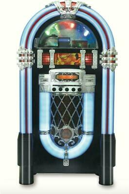 Retro Color-Changing Bluetooth Jukebox Full-size Wireless Mu