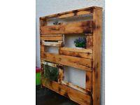 Handmade garden/home flowers shelf (furniture)