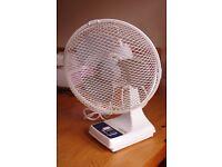 9 inch Desk Top Fan.