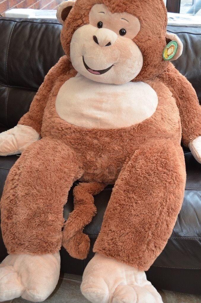 Giant Monkey 53 Inch Plush Monkey Soft Toy Large In Formby