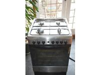INDESIT 60 cm Dual Fuel Cooker
