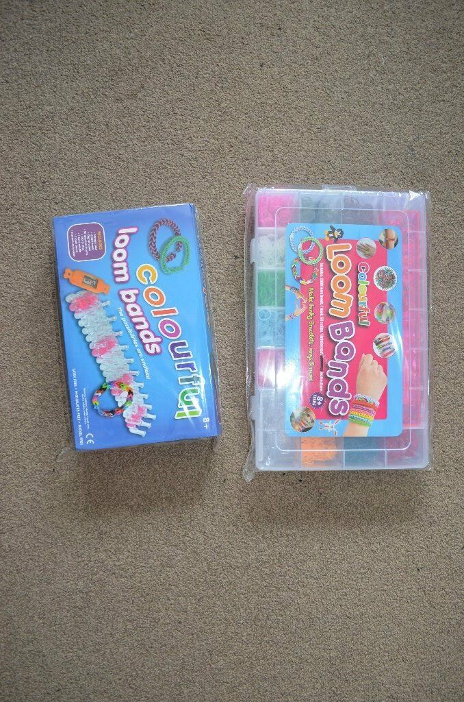 New two packs of loombands - xmas gift total 5000 looms