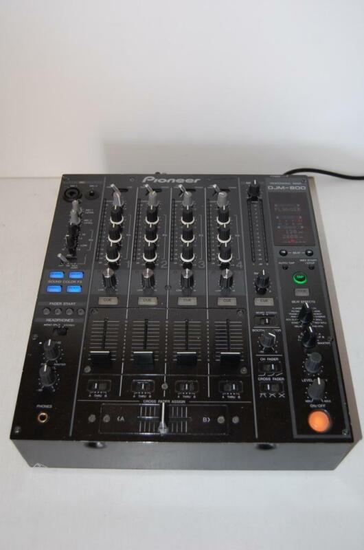 Pioneer DJM-800 4 channel Pro DJ Mixer Excellent L@@@K!!!!!