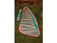 Gaastra Flow 2X 7.5m windsurf sail