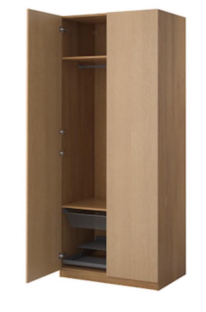 Second hand IKEA Pax Wardrobe