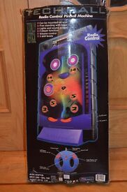 Electronic pin ball game