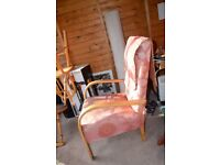 Much loved vintage arm chair (art deco?)