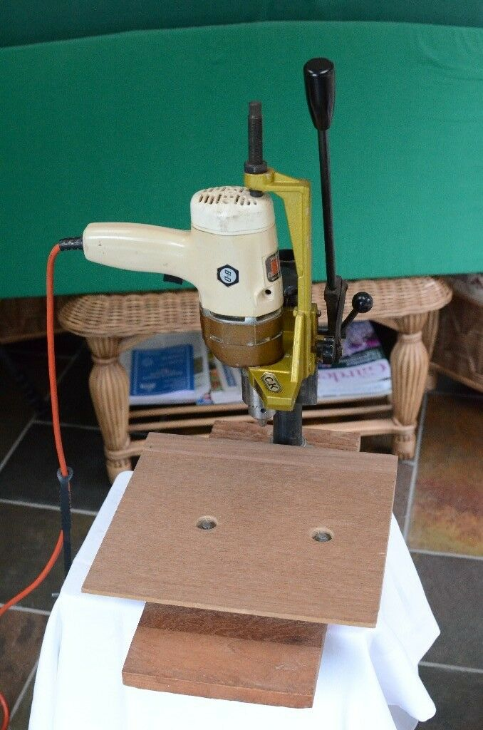 CK Drill Stand with Drill and Adjustable Table