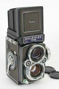 Rolleiflex 2.8GX Expressions Twin Lens Medium Format Camera w/80mm Planar & Meter!
