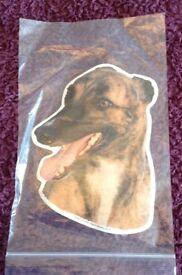 Greyhound Car Sticker