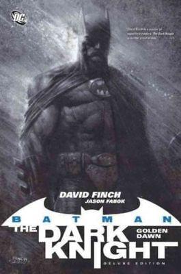 Batman The Dark Knight Golden Dawn HC Finch 2012 new w dust jacket