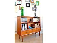 Stylish vintage Jentique Midcentury Teak Bookcase / Display Cabinet. Delivery. Modern / Danish