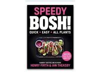 Speedy bosh! Vegan recipe cook book new rrp £22