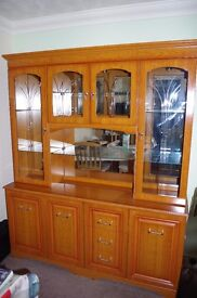 Display Cabinet in Yew