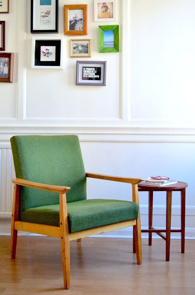 Marvelous Stylish Vintage Danish Armchair. Delivery. Modern / Mid Century /  Scandinavian / Retro Style