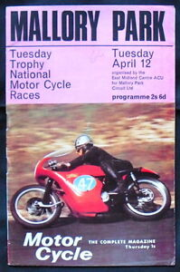 MALLORY-PARK-TUES-TROPHY-NATIONAL-MOTORCYCLE-RACE-PROGRAMME-12-APR-1966