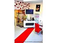 barber chair rental red carpet salon 183a oxford road reading
