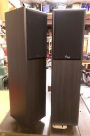 Gale Model 4 Floor Standing Speakers.