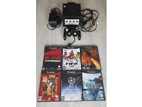 Nintendo Gamecube, all leads, official controller and 6 games - Excellent condition
