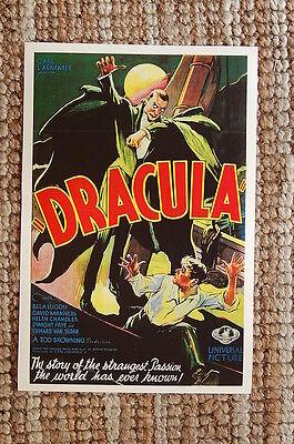 Dracula Lobby Card Movie Poster Bela Lugosi #2 - Bela Lugosi Dracula