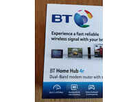 BT HomeHub 4r N600 Dual Band Wireless ADSL Modem Router - works with all ISPs