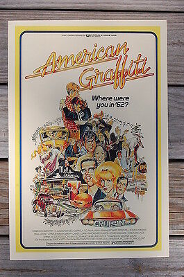 American Griffiti Lobby Card Movie Poster Ron Howard