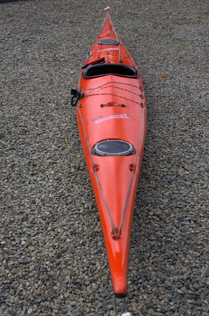 Sea Kayak For Sale Valley Nordkapp HM With Integrated Deck Pump