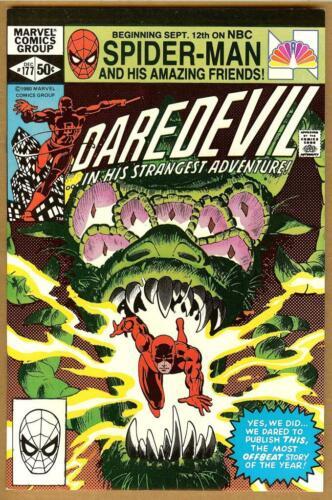Daredevil #177 VF/NM Elektra Stick