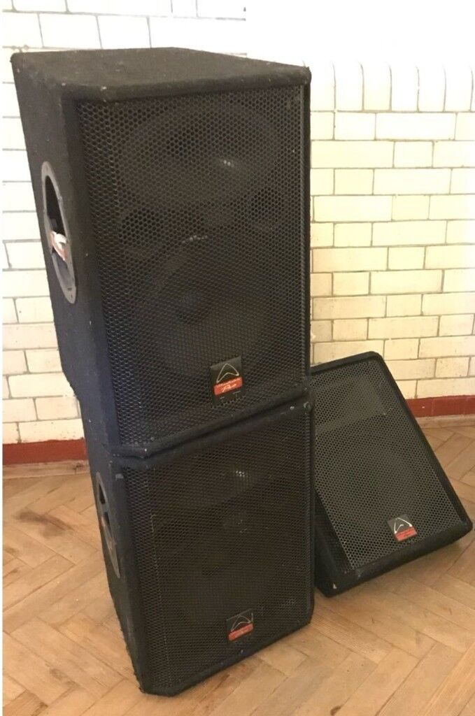 pa sound system and stage monitor loudspeakers for sale reduced price for quick sale in. Black Bedroom Furniture Sets. Home Design Ideas