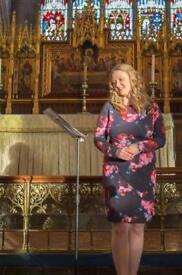 Wedding & Funeral Singer - Professional Classical Soprano Singer
