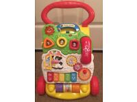 Kid toys - VTech First steps baby walker (LIKE BRAND NEW) (FFSP)