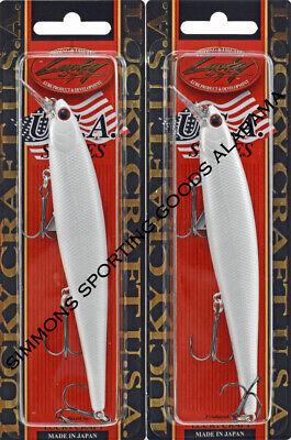 Lucky Craft Slender Pointer 127MR 238 Ghost Minnow