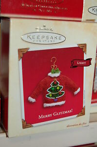 Hallmark-2003-Merry-Glitzmas-Ugly-Christmas-Sweater-Ornament