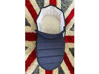 ICandy peach carrycot+car seat adapters