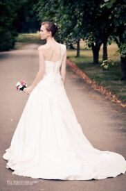 One shoulder bridal dress - Bought for photoshoot