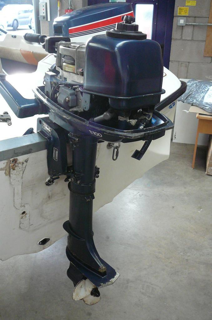 Yamaha 4hp Outboard Engine 6eo Short Shaft 2 Stroke border=
