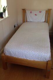 Single bed + mattress (soft)