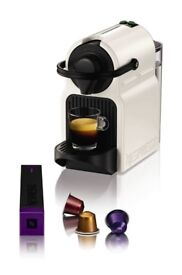NEW Nespresso Inissia Coffee Capsule Machine with Aeroccino, White by Krups