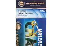 ICC Ind v Pak x 5 4th June 2017 Edgebaston